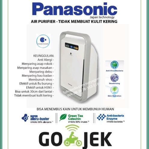 Foto Produk Panasonic Air Purifier F-PXJ30A GOJEK Anti Virus Bau Alergi Asap Rokok dari Surya Gemilang Toko