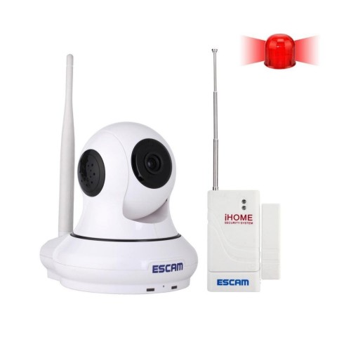 Foto Produk ESCAM Patron QF500 Wireless IP Camera CCTV for Android and iOS 1/4 Inc dari Kaylani's