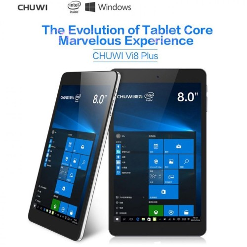 Foto Produk Chuwi VI8 Plus Dual OS Windows 10+Android 5.1 Type-C 2GB 32GB 8 Inch dari imas shop nusantara