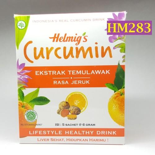 Foto Produk Minuman Effervescent Curcumin Helmig HM283 dari Helfia Store