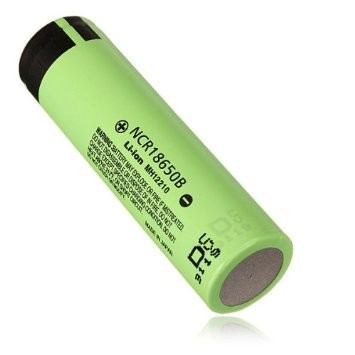Foto Produk Panasonic NCR 18650 Li-ion Battery 3400mAh 3.7V 30A with Flat Top dari Buka Lapakpedia