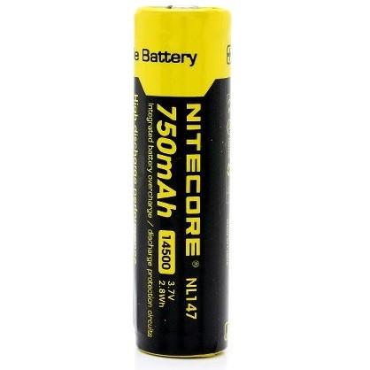 Foto Produk NITECORE 14500 Rechargeable Li-ion Battery 750mAh 3.7V dari Buka Lapakpedia