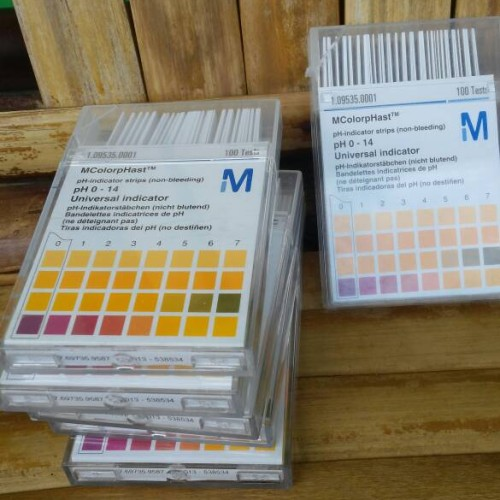 Foto Produk kertas ph merck   ph paper mcolorphast 0-14 ori german dari promo diskon bandung