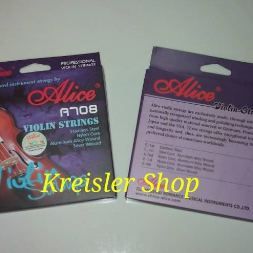 Foto Produk Senar biola Alice A708 tipe 708 dari Kreisler Shop