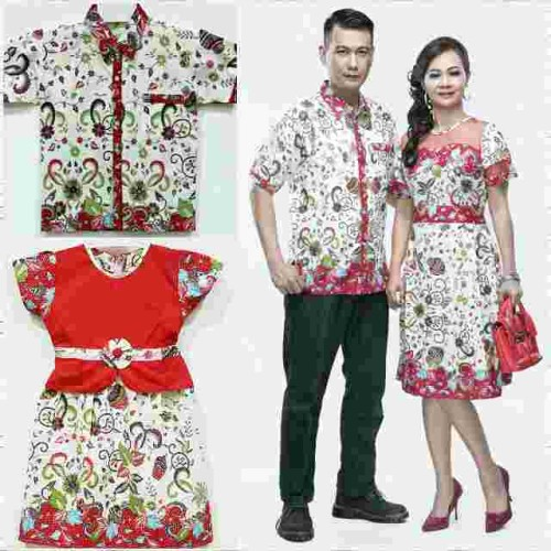 Foto Produk batik sarimbit keluarga dress keren dari DEVIS BATIK
