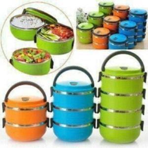 Foto Produk Rantang Stainless Susun 4 / Bekal / Lunch Box Berkualitas Broo !! Baru dari Claudia Krystina