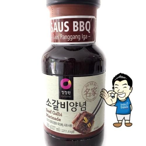 Foto Produk Daesang (Chung Jung One) Beef BBQ Sauce Marinade/ Saus bumbu BBQ- 280g - Galbi dari IndoFresco