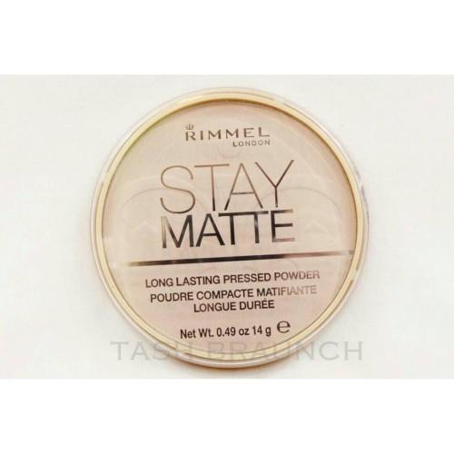 Foto Produk Rimmel Stay Matte Pressed Powder dari Tash Braunch
