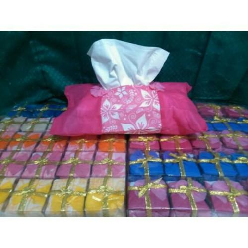 Foto Produk souvenir pernikahan tempat tisu puring dari RAJANYA SOUVENIR