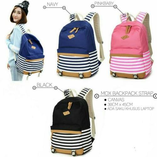 Foto Produk Ransel mox strap Baru | Tas Backpack Wanita Murah dari Claudia Krystina
