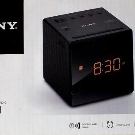 Foto Produk Sony ICFC1 Alarm Clock Radio Black Original dari Discount Shop