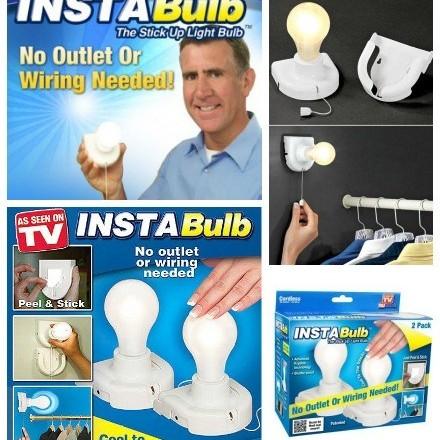 Foto Produk StickUp Bulb, Lampu Dinding, Lampu Tidur dari Discount Shop