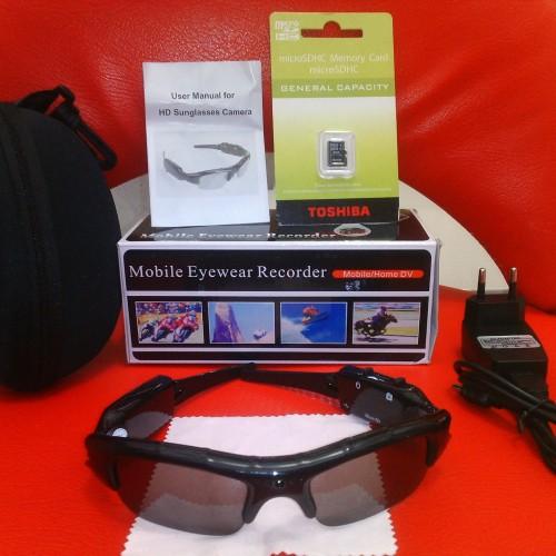 Foto Produk Kacamata Kamera /SPYCAM dilengkapi Memori 8GB dari Discount Shop