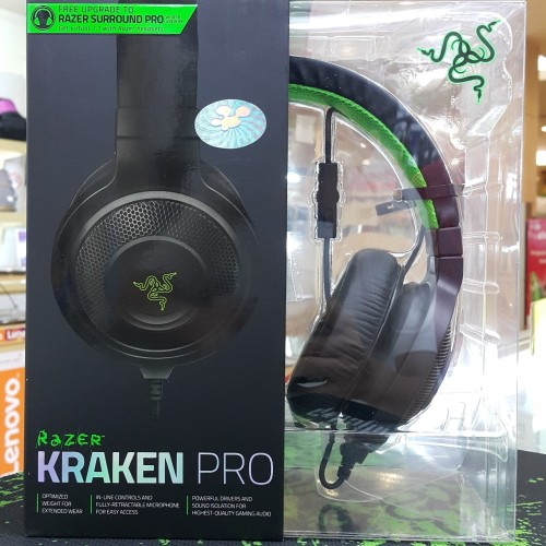 Foto Produk Razer Kraken Pro 2015 Analog Gaming Headset Black dari RIVER DIGITAL