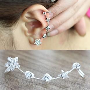 Foto Produk anting panjang bintang kotak hati/ Long earrings box star love JAN006 dari Oila