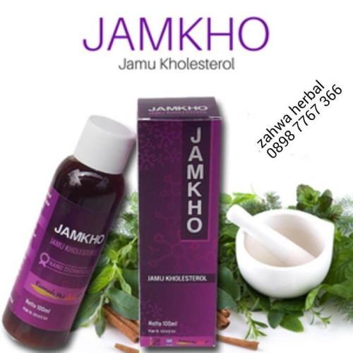 Foto Produk JAMKHO Jamu Kholesterol dari zahwaherbal