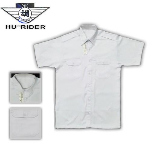 Foto Produk Kemeja Lengan Pendek Putih/Pria/Pangkat/Kerja/Formal HR dari Mulia Jeans