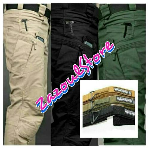 "Foto Produk Paket HEMAT..!!! Celana + Sabuk ""BLACKHAWK"" dari zazoulstore"