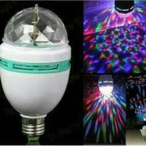 Foto Produk Lampu LED Disco Mitsuyama/ Pesta /Ulang tahun /Party Warni Warni dari Ar rohman herbal