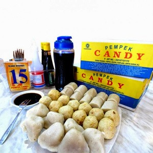 Foto Produk Pempek Candy Paket B Isi 40 Pcs [Citarasa Khas Pempek Palembang] dari qsd olshop