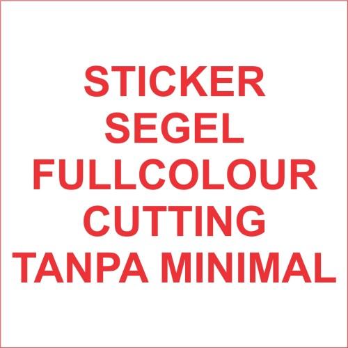Foto Produk Stiker segel Garansi fullcolour dg cutting (bahan pecah telur) dari Samurai Printing