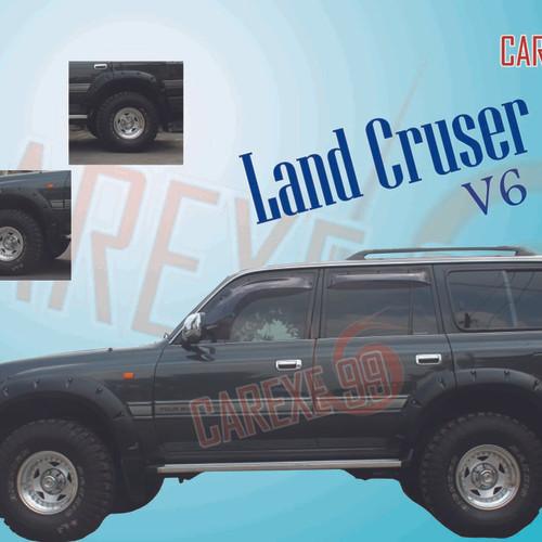 Foto Produk Over Fender Land Cruiser dari carexe