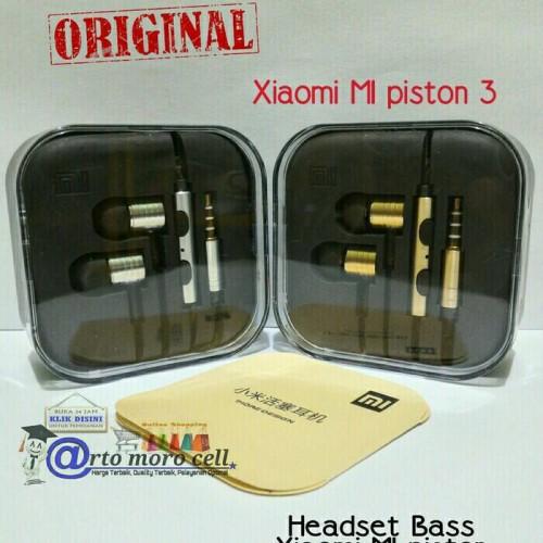 Foto Produk Headset Xiaomi MI piston 3 ORIGINAL Stereo Super Bass dari Arto moro cell