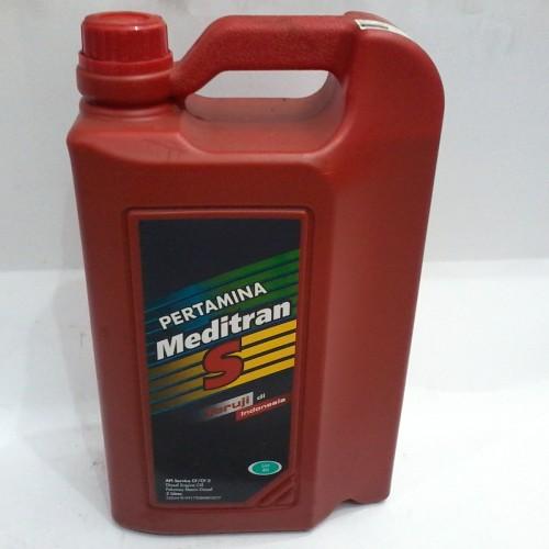 Jual Oli Mesin Pertamina Meditran S Sae 40 Isi 5 Liter Orisinil Genuine Jakarta Pusat Garuda Sakti Motor Tokopedia