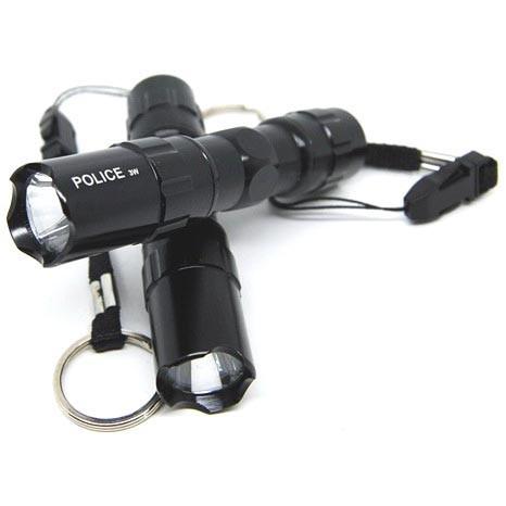 Foto Produk Police Senter LED Flashlight 3W Waterproof dari BudgetGadget