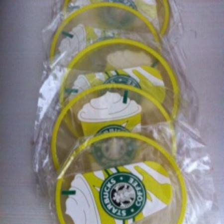 Foto Produk Tatakan alas gelas silikon special edition starbucks dari Lynlyn