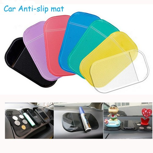Foto Produk SILICONE Car Anti Slip Mat Super Sticky Pad Phone HP dashboard Mobil dari dfanccie house