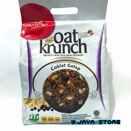 Foto Produk Munchys Oat Krunch Dark Chocolate - Dark Chocolate dari W-jaya Store