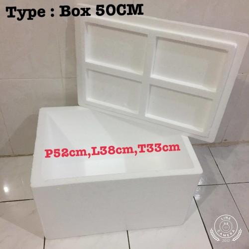 Foto Produk Styrofoam Box / Sterofoam box 50cm / Box Breeding dari IvanPlastik