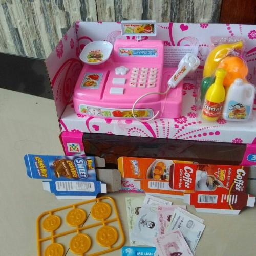 Foto Produk MAINAN MESIN KASIR/CASH REGISTER dari nambeng toys