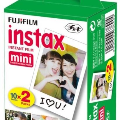Foto Produk Refill Isi Instax Mini Polos Twinpack (20 lembar) dari taskamera-id