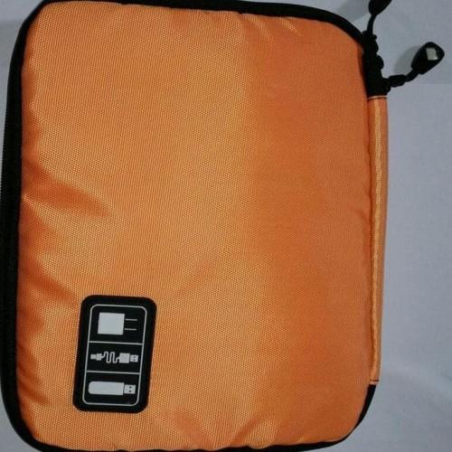 Foto Produk Hot Gadget Organizer Tempat Flashdisk Modem Kabel Charger Powerbank dari Rasya-collection