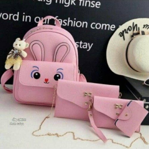 Foto Produk tas ransel kelinci *ester* 4in tanpa boneka harga promo dari rosemia fashion