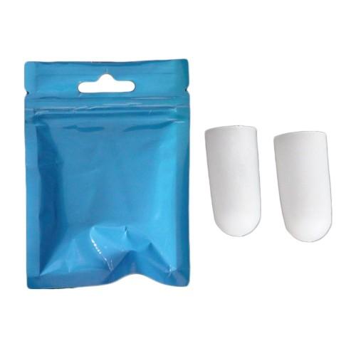 Foto Produk 2 pcs SiliconeGel Tube Bandage Finger Protectors Foot Feet Pain Relief dari Toko-Ben