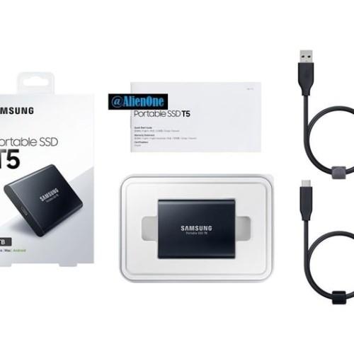 Foto Produk Samsung SSD T5 1TB Portable dari DATA Online