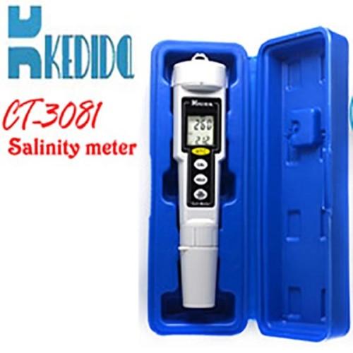 Foto Produk Salt Meter Kedida CT-3081 Ukur kadar garam 0-9999 mL/g CT3081 Salinity dari HRDIK