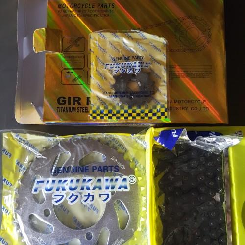 Foto Produk gear set jupiter z one fukukawa dari Ridho jaya motor