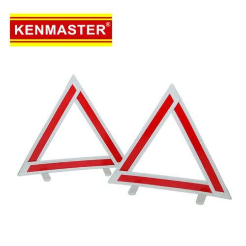 Foto Produk Kenmaster Pengaman Segitiga Mobil 1pack isi 2pc dari Dbestcompushop
