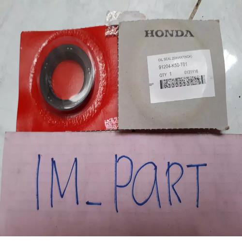 Foto Produk Oil Seal 29 X 44 X 7 Nok Sil Roda Belakang Beat Fi 91204-K50-T01 dari IM-PART (HONDA)