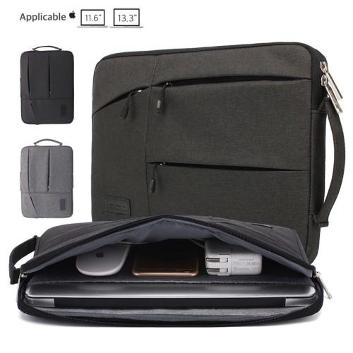 Foto Produk Gearmax Sleeve/Bag for Macbook 11-13inch (Grey) - GREY, 13.3 dari 24HoursShop