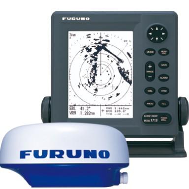 Foto Produk Furuno 1715 Marine Radar Kapal Kecil + Antena Ori Baru dari Hanika Radio