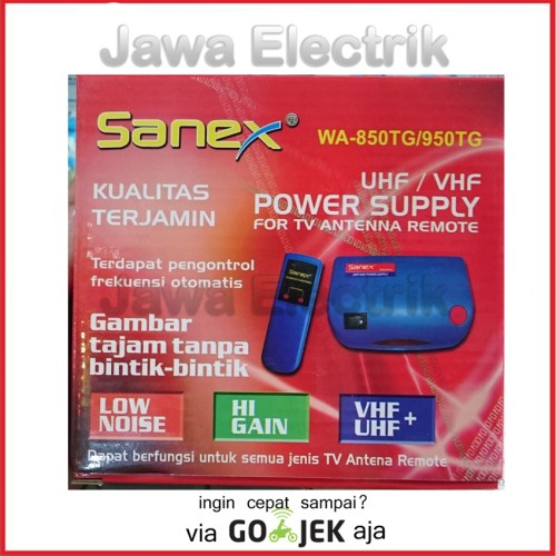 Foto Produk Boster Antena Remote Sanex dari Jawa Electrik