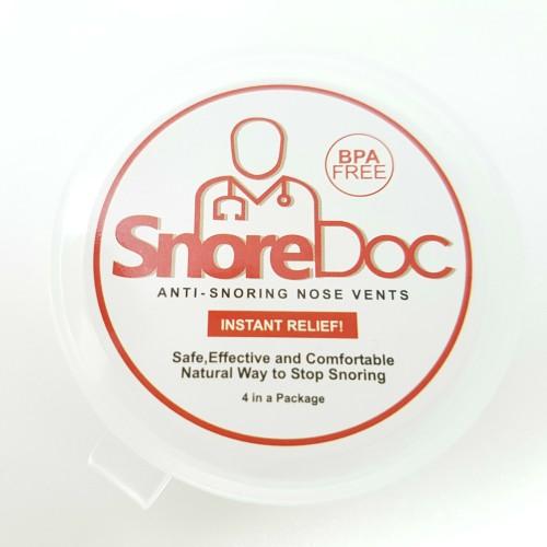 Foto Produk SnoreDoc (4 Pcs - BPA Free): Anti Ngorok, Anti Dengkur, Snore Stopper dari EPU Express