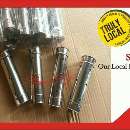 Foto Produk Cetakan Lontong Stainless Steel Anti Karat Isi 1 Lusin ukuran 4x15 dari raja OL