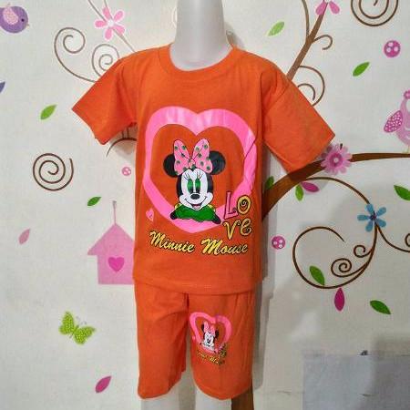 Foto Produk Stelan Anak Katun - Minnie Mouse 2 dari Carol R. Duncan Store