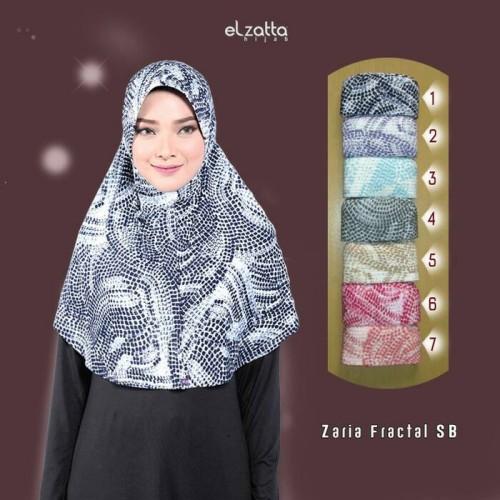 Jual Elzatta Zaria Fractal Sb Jilbab Instan Bergo Kerudung Hijab Terbaru Bandung Dunia Hijab Store Tokopedia